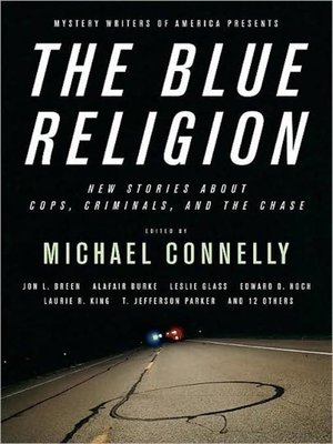 Click this cover for a(n) Audiobook sample of Mystery Writers of America Presents The Blue Religion