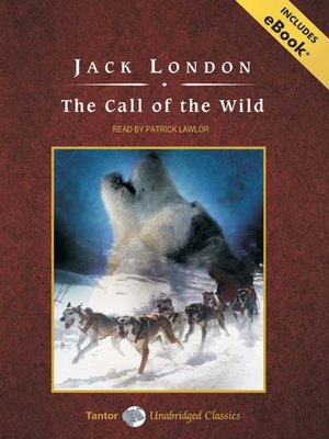 Click this cover for a(n) Audiobook sample of The Call of the Wild.