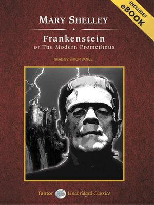 Click this cover for a(n) Audiobook sample of Frankenstein, or The Modern Prometheus.