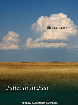Click this cover for a(n) Audiobook sample of Juliet in August.