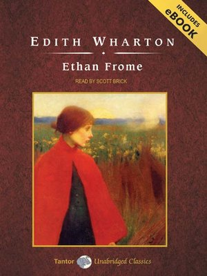 Click this cover for a(n) Audiobook sample of Ethan Frome.