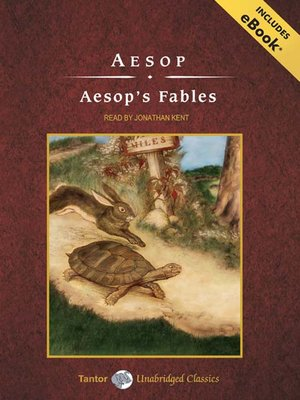 Click this cover for a(n) Audiobook sample of Aesop's Fables.