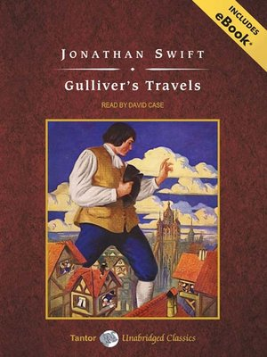 Click this cover for a(n) Audiobook sample of Gulliver's Travels.
