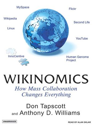 Click this cover for a(n) Audiobook sample of Wikinomics.