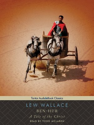 Click this cover for a(n) Audiobook sample of Ben-Hur.