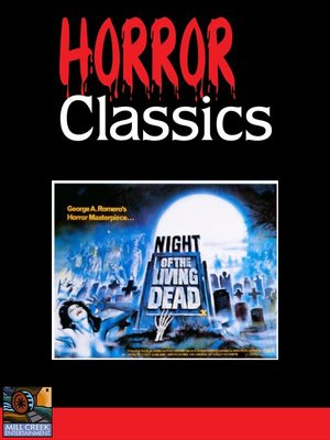 Click this cover for a(n) Video sample of Night of the Living Dead.