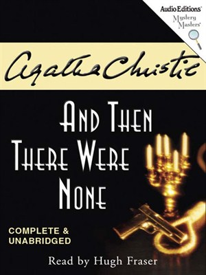 Click this cover for a(n) Audiobook sample of And Then There Were None.