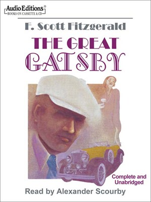 Click this cover for a(n) Audiobook sample of The Great Gatsby.