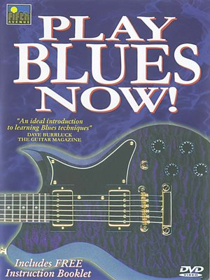 Click this cover for a(n) Video sample of Play Blues Now!.