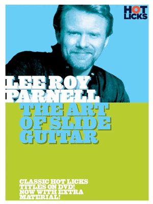 Click this cover for a(n) Video sample of Lee Roy Parnell: The Art of Slide Guitar.