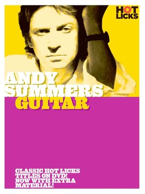 Click this cover for a(n) Video sample of Andy Summers: Guitar