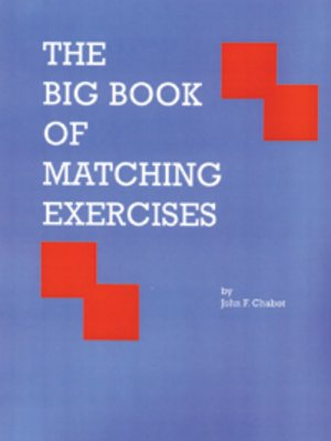 Click this cover for a(n) eBook sample of The Big Book Of Matching Exercises.