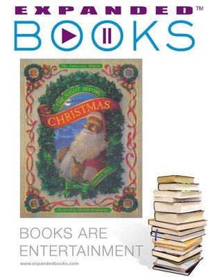 Click this cover for a(n) Video sample of Expanded Books Interview: The Night Before Christmas