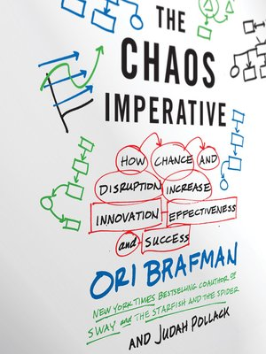 Click here to view Audiobook details for The Chaos Imperative by Ori Brafman