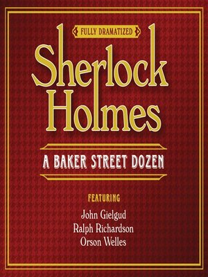 Click this cover for a(n) Audiobook sample of Sherlock Holmes.