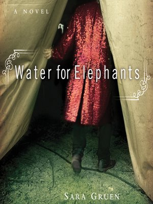 Click this cover for a(n) Audiobook sample of Water for Elephants.