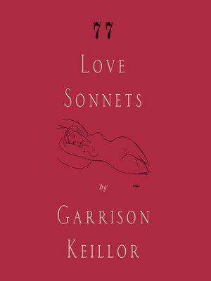 Click this cover for a(n) Audiobook sample of 77 Love Sonnets.