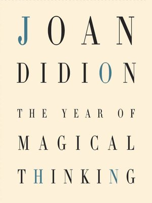 Click this cover for a(n) Audiobook sample of The Year of Magical Thinking.