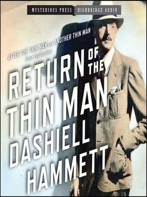 Click this cover for a(n) Audiobook sample of Return of the Thin Man.