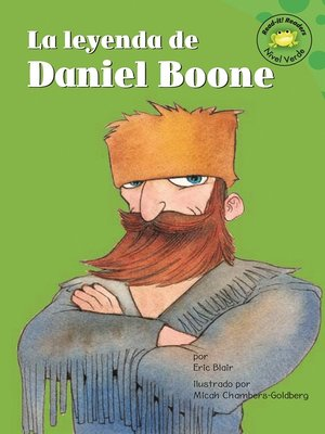 Click this cover for a(n) eBook sample of La leyenda de Daniel Boone.