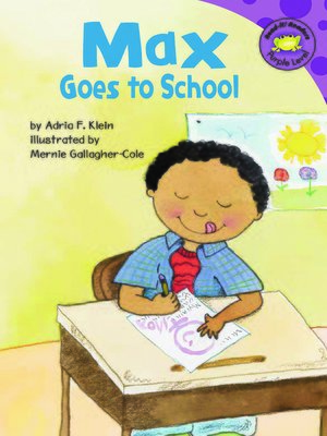 Cover of Max Goes to School