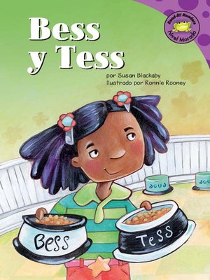 Click this cover for a(n) eBook sample of Bess y Tess.