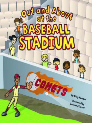 Click this cover for a(n) eBook sample of Out and About at the Baseball Stadium