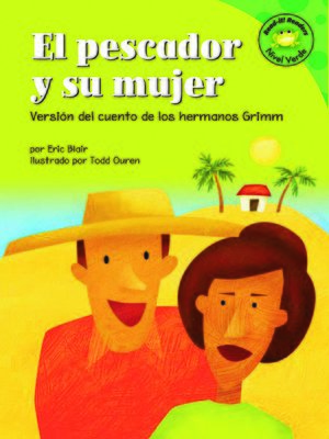 Click this cover for a(n) eBook sample of El pescador y su mujer.
