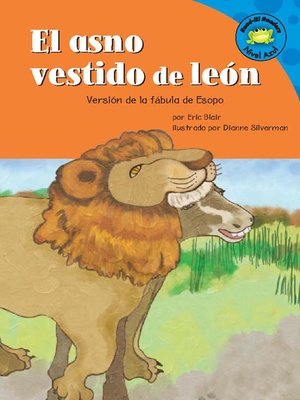 Click this cover for a(n) eBook sample of El asno vestido de león.