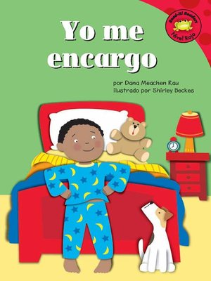 Click this cover for a(n) eBook sample of Yo me encargo
