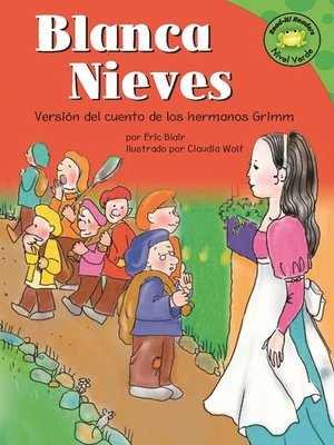 Click this cover for a(n) eBook sample of Blanca Nieves