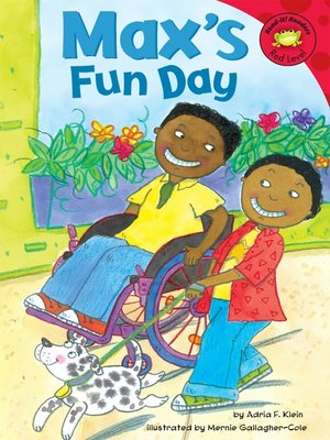 Click this cover for a(n) eBook sample of Max's Fun Day