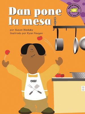 Click this cover for a(n) eBook sample of Dan pone la mesa
