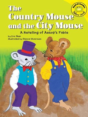 Cover of The Country Mouse and the City Mouse