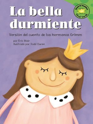 Click this cover for a(n) eBook sample of La bella durmiente.