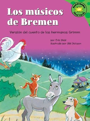 Click this cover for a(n) eBook sample of Los músicos de Bremen