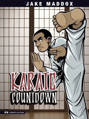 Click this cover for a(n) eBook sample of Karate Countdown