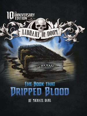 Click this cover for a(n) eBook sample of The Book That Dripped Blood.