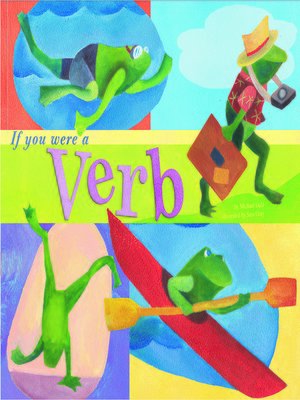 Cover of If You Were a Verb