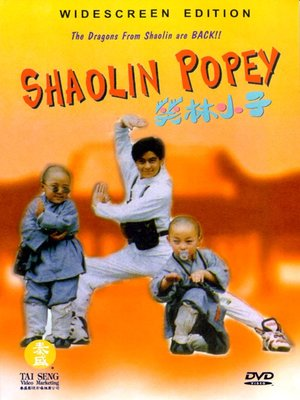 Click this cover for a(n) Video sample of Shaolin Popey