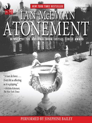 Click this cover for a(n) Audiobook sample of Atonement.