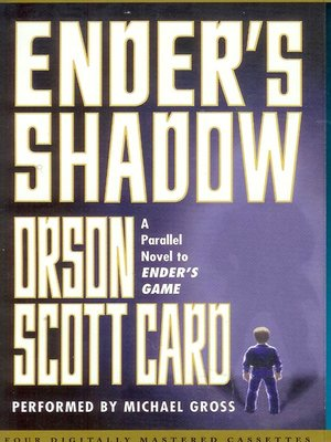 Click this cover for a(n) Audiobook sample of Ender's Shadow.