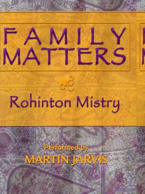 Click this cover for a(n) Audiobook sample of Family Matters.