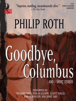 an analysis of conflicts in philip roths goodbye columbus Feminist themes in philip roth'sgoodbye, columbus haley e van bellingham the current article presents evidence that, in his novellagoodbye, columbus, philip roth should be a major conflict in the novel.