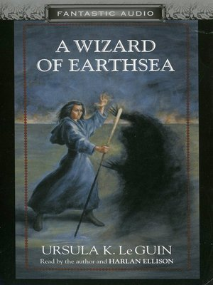 Click this cover for a(n) Audiobook sample of A Wizard of Earthsea.
