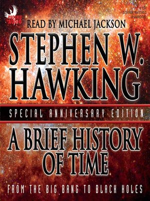 Click this cover for a(n) Audiobook sample of A Brief History of Time.