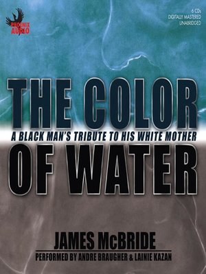 Click this cover for a(n) Audiobook sample of The Color of Water.