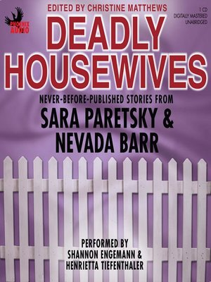 Click this cover for a(n) Audiobook sample of Deadly Housewives.