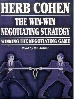 Click this cover for a(n) Audiobook sample of The Win-Win Negotiating Strategy
