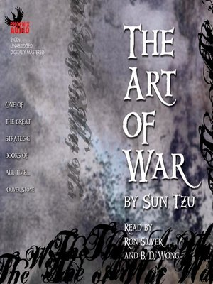Click this cover for a(n) Audiobook sample of The Art of War